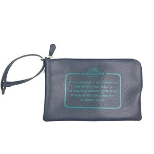 Coach Clutch Zip Pouch